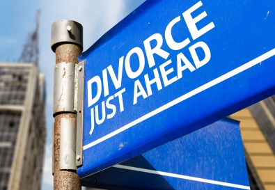 Divorce sign