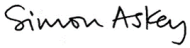 Simon Askey Signature