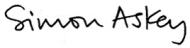 Simon Askey Signature