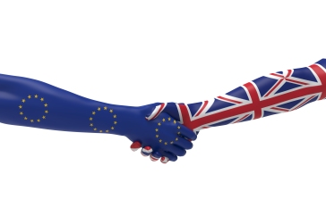 Europe and United Kingdom Handshake Bilateral talks