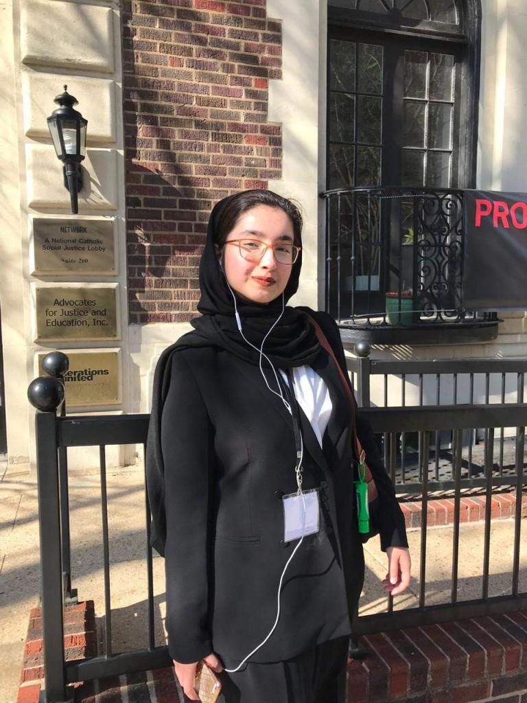 Student; Sana-e-Muhammad