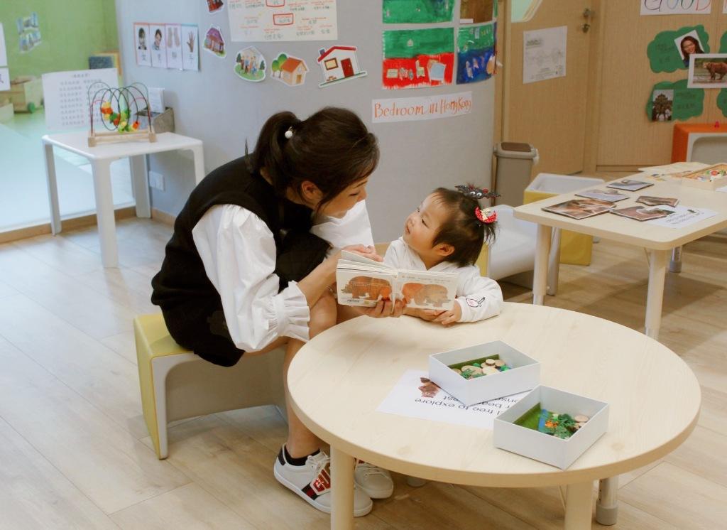 Student; Wong Kar Man and her child